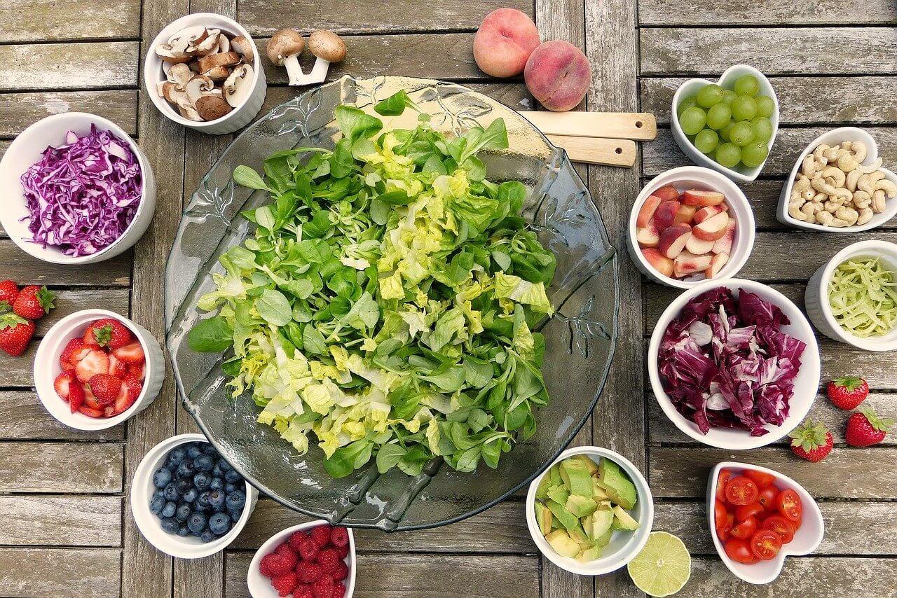 栄養バランスの良い食事をとる