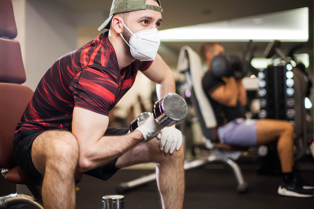 マスク着用のままスポーツして大丈夫?